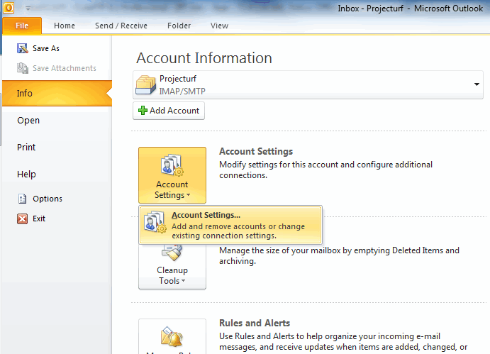 Instructions to sync to outlook calendar